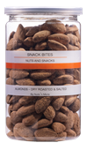 Almonds Dry Roasted And Salted 200G B