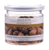 Almonds Roasted With Smoke Flavour And Salted 90G B