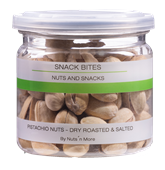 Pistachio Nuts Dry Roasted And Salted 90G B